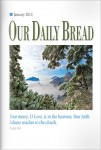 Our Daily Bread Cover January 2013