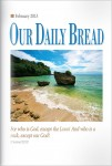 Our Daily Bread Cover February 2013