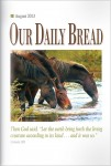 Our Daily Bread Cover August 2013