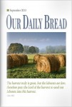 Our Daily Bread Cover September 2013
