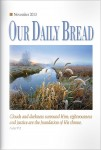 Our Daily Bread Cover November 2013