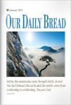 Our Daily Bread Cover January 2014